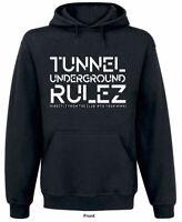 """Tunnel Hoodie """"UNDERGROUND RULEZ"""""""