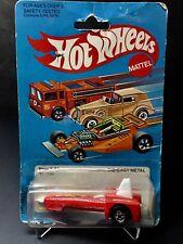 Hot Wheels 1982 Tricar X-8 Red w/BW Wheels #1130 NOC