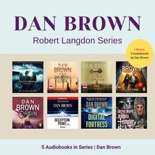 Robert Langdon Series 5 Audiobooks + 3 Bonus Audiobooks (MP3) By Dan Brown