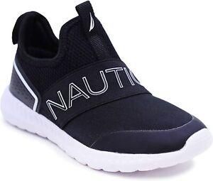 new NAUTICA kids youth ALOIS shoes sz 3 girls boys slip-on sneakers run tennis