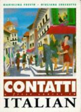 Contatti 1: STDNTS BK: A First Course in Italian,Mariolina Freeth, Giuliana Che