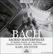 "Karl Richter ""Bach:Sacred Masterpieces"" BRAND NEW 10 CD SET! STILL SEALED!"