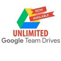 7) Unlimited Google Laufwerk (Team Drive) für Ihr ein Google-Konto.
