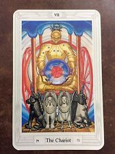 Aleister Crowley Thoth Tarot Small Deck The Chariot INDIVIDUAL CARD Magik