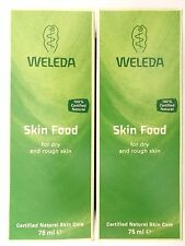 WELEDA Skin Food 2 x 75ml   ( Irritated and Dry skin of any age )