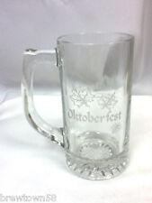 Oktoberfest novelty drink glass mug The Washington County Humane Society FD9