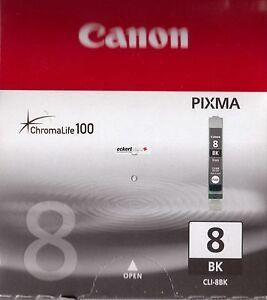 Restposten Orginal CANON Tintenpatrone CLI-8BK Schwarz 13ml