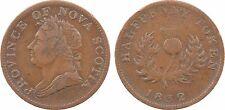 Canada, half penny token, Nova Scotia, 1832, cuivre - 42