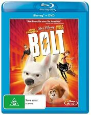 Bolt (Blu-ray + dvd. New & sealed 2-disc. disney)