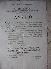 M959-MANTOVA-VIADANA-FIERA DI S.PIETRO 1825
