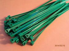 GREEN CABLE TIES 203mm X 4.6mm QTY = 200