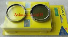 Sony OEM 58mm MC Protector + Polarizing Lens Filter PL Japan Genuine Origianl