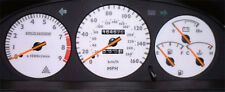 Lockwood Toyota Celica st182 1990-1994 160 mph Plata (ST) marque Kit 44uuu1
