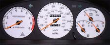 Lockwood Toyota Celica ST182 1990-1994 160MPH SILVER (ST) Dial Kit 44UUU1