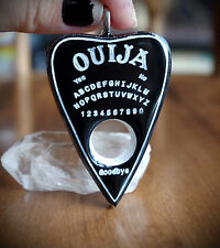 Black Resin Planchette Ouija Necklace Grunge/Emo/Pastel/Occult/Goth/Alt/Unisex