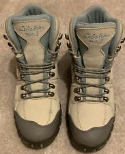 Cabela's Women Winter Hiking Boots, Light Cream / Baby Blue, Size 7D