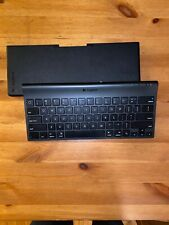 Logitech Tablet Keyboard for iPad tablets Bluetooth keyboard TESTED/WORKS