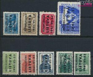 Lituania (alemán.ocupación.2.guerra mundial.) 1-9 (completa edición (9640390