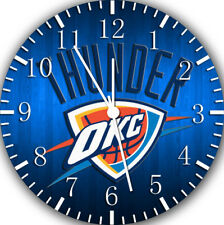 Oklahoma City Thunder Frameless Borderless Wall Clock Nice For Gifts E455