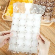 100 Pcs disposable ice-making bags Ice Cube Tray Mold Makes Shot Glasses Ic K7N5