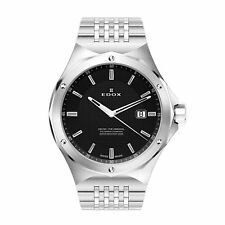 Edox 530053MNIN Men's Delfin black Quartz Watch