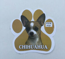 NEW Dog Paw Magnet- Chihuahua Item 9