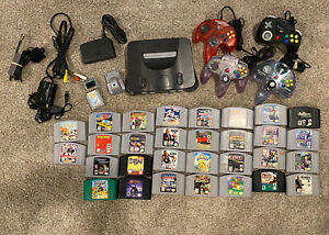 Nintendo 64 N64 lot 30 Different Games - Authentic And Tested