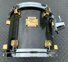 "Yamaha Maple Custom 9"" X 10"" Tom - 90s Transparent Black / Gold Lugs"