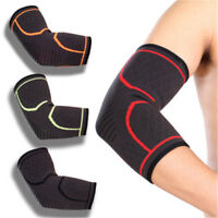 Elbow Support Brace Arthritis Bandage Arm Compression Sleeve Elastic Wrap-Strap