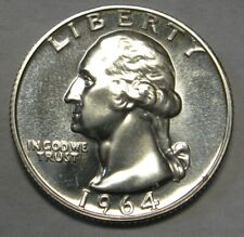 1964 Proof Washington Silver Quarter Shipped FREE Best Price on Ebay Nice Coins!