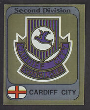 Panini - Football 82 - # 341 Cardiff Foil Badge