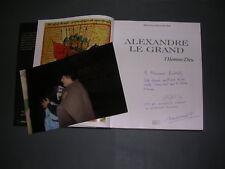 Lybie M. Kadhafi M. Dessemond Alexandre Le Grand envoi à M. Kadhafi + photo