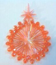 SMALL PIN LIGHT GLOBES & AURORA STAR Ceramic Christmas Tree 65  Pink  SPECIAL