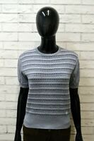 Maglione CONTE OF FLORENCE Cardigan Donna Taglia S Pullover Sweater Lana Woman