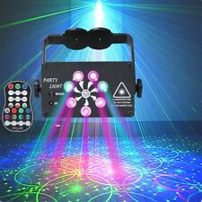 120 Muster 8 Lens LED Bühnenbeleuchtung RGB Laser Disco Party Licht Projektor