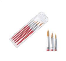 Hwahong Artist Detail Paint Brushes Pointed Round Brush 320 1Set (5ea Brushes)