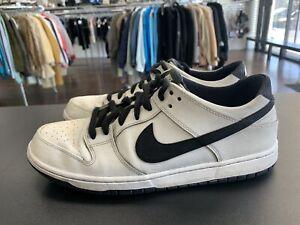 Nike SB Dunk Low Ishod Wair White Black 819674 101 Size 12