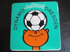 Dynamo Dresden-ballstark-original DDR Aufkleber-80er Jahre