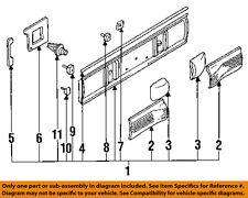 MAZDA OEM 92-94 Protege Trunk Lid-Finish Panel Trim BB4W50850A