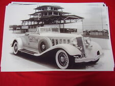 1933  CHRYSLER ROADSTER INDY 500 PACE CAR   11 X 17  PHOTO  PICTURE