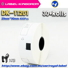 30 Rolls Brother QL700 Compatible DK-11201 Adhesive Label Sticker 29*90mm