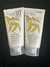 Australian Gold Botanical Mineral Sunscreen Lotion - Spf-30 Loy Of 2 New
