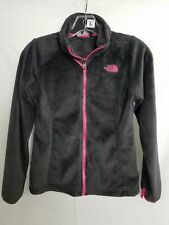 The North Face Girls Fuzzy Full Zip Jacket Sz M