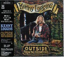 Kenny Loggins Outside: From The Redwoods, Japan CD Obi_SRCS-6818