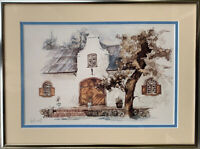 Ted Hoefsloot LISTED ARTIST Serigraph Lithograph LANDSCAPE Hand Signed