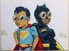 MARTHA'S BOYS BY HEBRU BRANTLEY 2017 PRINTERS PROOF Art Print Poster