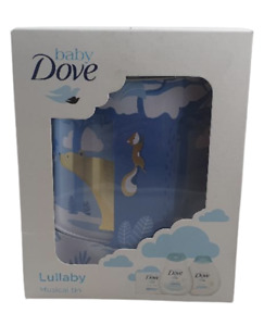 Dove Baby Set Musical Tin Rich Moisturising with Lullaby 4 Piece Gift set