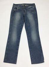 Dekher jeans donna usato W29 tg 43 denim gamba dritta straight boyfriend T3392