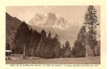 Ferrovia delle Dolomiti - Sulla via di Cortina fra Borca e  S. Vito di Cadore
