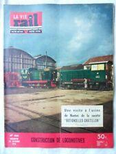 LA VIE DU RAIL N°468-24 OCTOBRE 1954